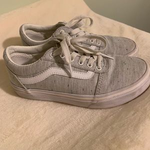 Kids Linen Speck of Color Vans